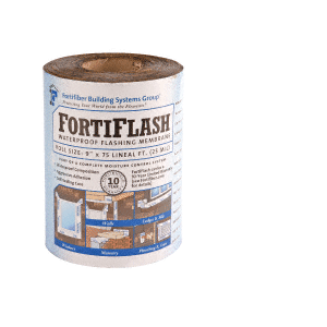 "FortiFlash M706030 40 mil 9"" x 75' Fortifiber Waterproof Flashing"