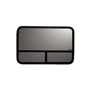 """CRL VW50089L T-Slider Window - Drivers Side Forward 1975-1991 Ford 44-7/16"""" x 19-1/8"""" with 2-1/4"""" Trim Ring"""