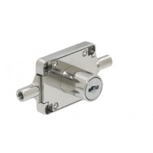 CRL FG765X KCS Chrome Furniture Lock High Security