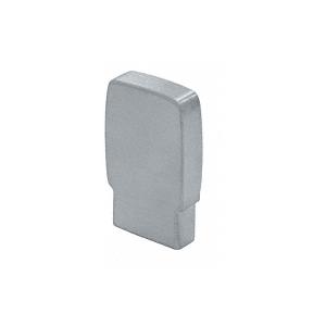 CRL Blumcraft 397ECM 397 Series Aluminum Flat Satin Anodized End Caps for Wood Cap Railings