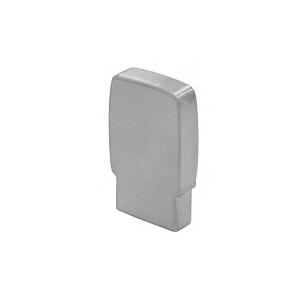 397 Series Aluminum Flat Satin Anodized End Caps for Wood Cap Railings