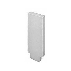 632 Series Aluminum Flat Satin Anodized End Caps for Wood Cap Railings