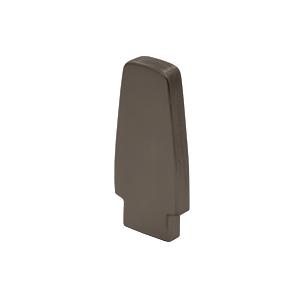 Dark Bronze Anodized 572 Series Aluminum End Cap