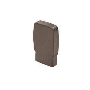 CRL Blumcraft 597ECDU Dark Bronze Anodized 597 Series Aluminum End Cap