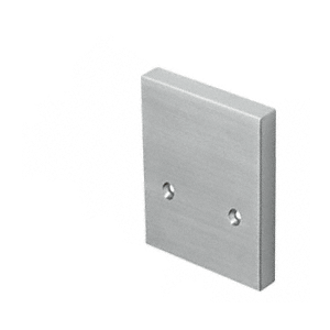 Brushed Stainless End Cap for RG500 Series Base Shoe