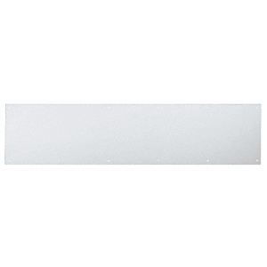 "10"" x 34"" Clear Anodized Kick Plate"