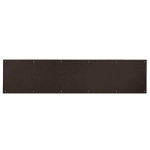 "CRL KP10X3410B 10"" x 34"" Oil Rubbed Bronze Kick Plate"