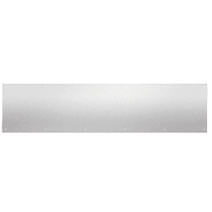 "10"" x 34"" Brushed Stainless Kick Plate"