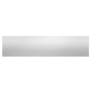 "CRL KP12X3432D 12"" x 34"" Brushed Stainless Kick Plate"