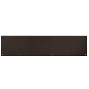 "CRL KP12X3410B 12"" x 34"" Oil Rubbed Bronze Kick Plate"