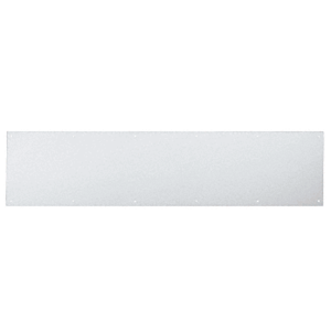 """12"""" x 34"""" Clear Anodized Kick Plate"""