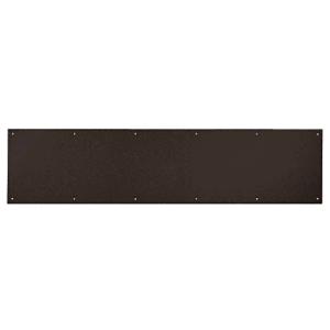 "CRL KP6X3410B 6"" x 34"" Oil Rubbed Bronze Kick Plate"
