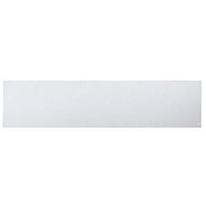 "8"" x 30"" Clear Anodized Kick Plate"