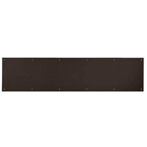 """8"""" x 30"""" Oil Rubbed Bronze Kick Plate"""