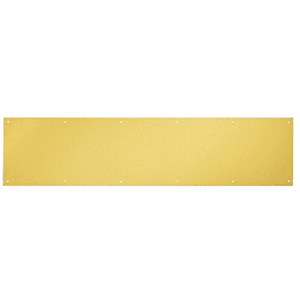 "8"" x 30"" Polished Brass Kick Plate"