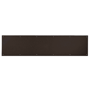 "8"" x 34"" Oil Rubbed Bronze Kick Plate"