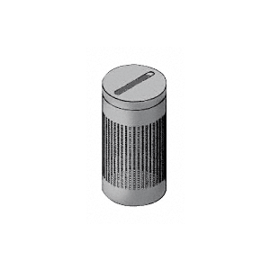 Architectural Brushed Stainless Newspaper Receptacles