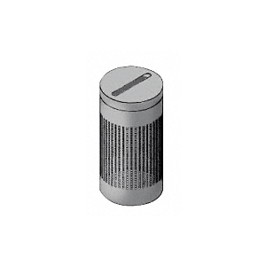 Architectural Non-Directional Stainless Newspaper Receptacles