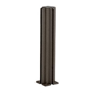 "Duranodic Bronze 16"" 3-Way Design Series Partition Post"