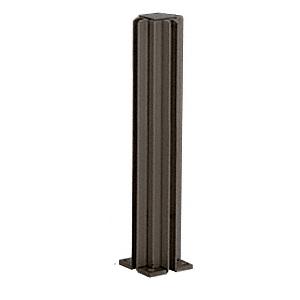 "Duranodic Bronze 16"" 4-Way Design Series Partition Post"