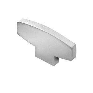 Satin Anodized Decorative Flat End Caps for 398 Series Aluminum Cap Railings