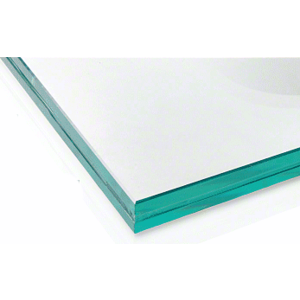 """CRL LG21C48 21.52mm Clear Laminated Tempered 48"""" x 41"""" Glass Panel"""