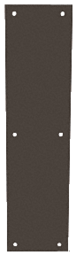 "CRL M60410B Oil Rubbed Bronze Push Plates 4"" x 16"""