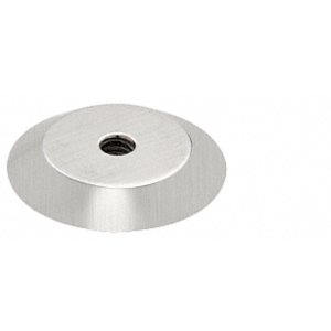 "Brushed Stainless Steel 1"" Trim Plate for Standoff Bases"