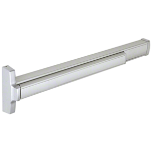 "36"" Model 2086 Concealed Vertical Rod Panic Exit Device Left Hand Reverse Bevel Fits 3/0 x 7/0 Door Aluminum Finish"