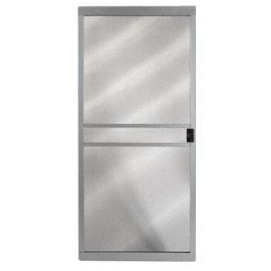 """CRL 1021081404 Columbia Gray 36"""" x 80"""" CM Supreme Sliding Screen Door"""