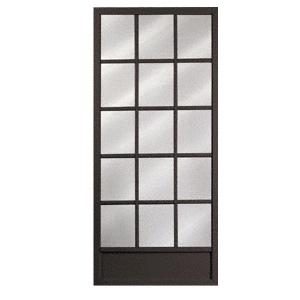 """CRL 2015788204 Columbia Colonial Bronze 36"""" x 80"""" Steel Hinged Screen Door"""