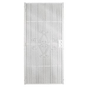 """CRL 25160202 Columbia Magnum White 36"""" x 80"""" Security Screen Door"""
