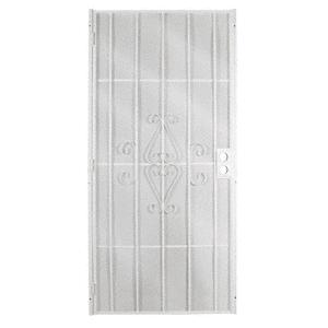 "Columbia Magnum White 32"" x 80"" Security Screen Door"