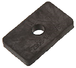 """CRL ZL38SG 3/8"""" Glass Square Z-Clamp Replacement Gasket - pack of 2"""