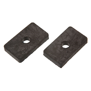 """3/8"""" Glass Square Z-Clamp Replacement Gasket - pack of 2"""