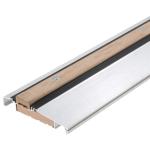 """CRL 1006A36 Aluminum 36"""" Outswing Adjustable Oak Top Threshold"""