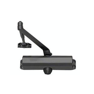 CRL DC54BLK Black ANSI Grade 1 Spring Size 4 Surface Mount Door Closer