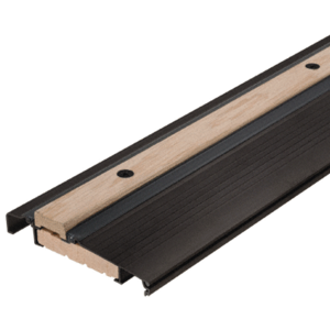 "Bronze 36"" Outswing Adjustable Oak Top Threshold"