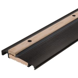 "CRL 1006D73 Bronze 73"" Outswing Adjustable Oak Top Threshold"