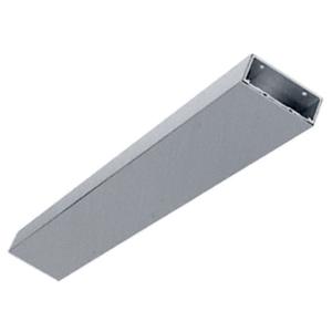 "Brushed Stainless 6"" Header/Jamb with Flat Filler Custom Length"