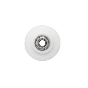 "CRL WREPK7N Nylon Concave Edge Replacement Wheel - 2"" x 1/8"""