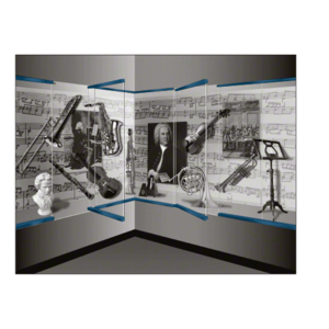 "CRL Blumcraft 13SDT38PT Painted 1301 Series Display Case Door - 3/8"" Tempered Glass"