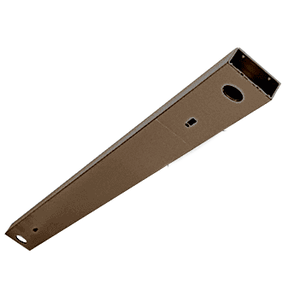 "Oil Rubbed Bronze Custom Length 4-1/2"" No Pocket Double Sided Door Header"