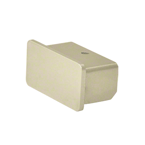 """Hansen ARHEC0W Oyster White 1100 Series Quick Connect End Cap for 1"""" x 2"""" Tubing"""