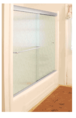 """CRL CK146072BA Brite Anodized 60"""" x 72"""" Cottage CK Series Sliding Shower Door Kit with Clear Jambs for 1/4"""" Glass"""