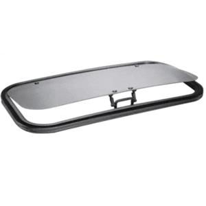 "CRL AP1530B6H SFC 15"" x 30"" AutoPort Sunroof Molded Trim Ring - Solar High Performance Glass"