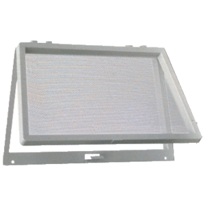 Gray Plastic Screen Wicket
