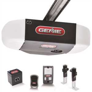 Genie 7035-V ChainMax 1/2 HPC Durable Chain Drive Garage Door Opener with Battery Backup