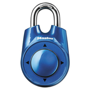 """Master Lock Company MLK1500ID Speed Dial Set-Your-Own Combination Lock, 2"""" Wide, Assorted"""