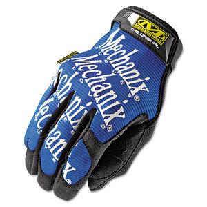 Mechanix Wear MNXMG03010 The Original Work Gloves, Blue/Black, Large